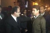 وزير الداخلية يزور مصابي الشرطة