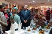 افتتاح معرض للفنون التشكيلية بقصر ثقافة أسوان بحضور المحافظ  ..