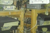 """""""مصنفات الإسكندرية"""" تكشف شبكة للدش المركزى لإعادة بث القنوات المشفرة  ."""