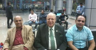 بعثة الطائرة الشاطئية تصل القاهرة بعد تأهلها لريو دى جانيرو .