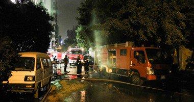 بعد مرور 26 ساعة.. الحماية المدنية تسيطر على حريق استوديو ليلة بالمهندسين  .
