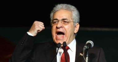 محمد أبو حامد: صباحى زعيم الوهم يدعو للتظاهر ويختفى .