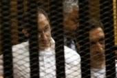 """سماع المرافعات بمحاكمة علاء وجمال مبارك فى """"التلاعب بالبورصة"""" اليوم  ."""