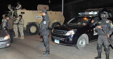 ضبط 38 هارب من تنفيذ أحكام بشمال سيناء .