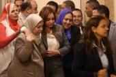 إصابة النائبة سعاد المصرى بحالة إغماء قبل بدء الجلسة العامة للبرلمان  ..