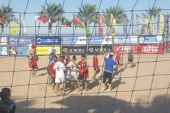 مصر تهزم لبنان 4 / 3 وتتأهل للدور نصف النهائى من بطولة الشاطئية ..