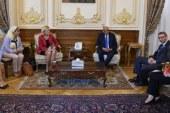 رئيس البرلمان لوفد منظمة التعاون الاقتصادى: نقدم كل الدعم لرفع شأن المرأة  ..