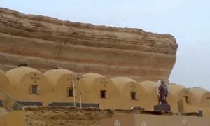 حبس راهب بالدير المنحوت بالفيوم عامين لتعديه على موظف