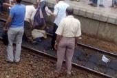 مصرع 3 أشخاص وإصابة آخر في تصادم قطار بسيارة ربع نقل بقنا