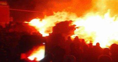 نفوق عشرات رؤوس الماشية إثر حريق في الأقصر