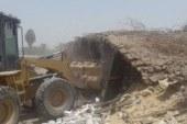 إزالة 259 حالة إشغال وتعدٍ على حرم الطرق في دمياط
