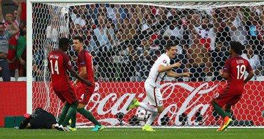 اسرع هدف في مبارة بولندا والبرتغال