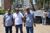 ..استكمال تطوير المسطحات الخضراء بميدان مصطفى كامل بالإسماعيلية  …