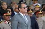 """السيسي يجتمع مع """"إسماعيل"""" و6 وزراء ورئيسي المخابرات والرقابة الإدارية"""
