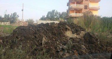 قرية بهواش بالمنوفية تعانى من المياه الجوفية الصرف الصحى …