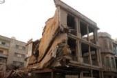 إصابة 6 أشخاص فى انهيار سقف عقار سكنى بالجيزة