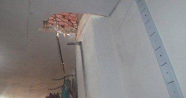 إصابة شخصين فى انهيار سقف منزلهما إثر انفجار موقد بوتاجاز بالإسكندرية …