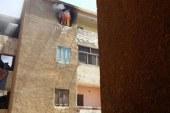 4 سيارات إطفاء تسيطر على حريق شقة سكنية بأكتوبر بدون اصابات …