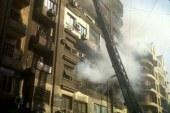الحماية المدنية تسيطر على حريق شقة سكنية فى المرج …