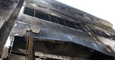 الدفع بـ15 سيارة إطفاء لإخماد حريق مصنع تينر وبويات فى أكتوبر  …