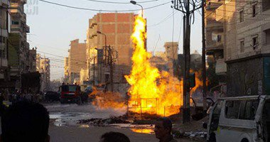 النيابة تنتقل لمعاينة حريق مستشفى الحسين  …
