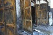 استعجال تحريات المباحث في واقعة حريق محل تجاري بالسلام