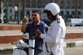 """تحرير 4 آلاف مخالفة مرورية وحجز 18 """"توك توك"""" مخالفة لقرار السير بالجيزة  …"""