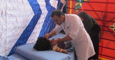 """"""" صحة الاسكندرية"""" تعالج 1200 مريض فى قافلة طبية بقرى بنجر السكر …"""