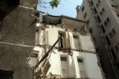 انهيار جزئى بمنزل دون حدوث إصابات بشرية فى المنوفية …