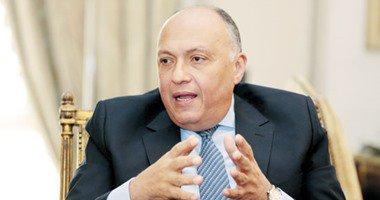 """"""" سامح شكري"""" يرأس وفد مصر لبحث سبل الإصلاح الهيكلي للاتحاد الأفريقي"""