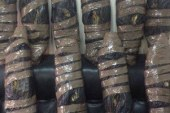 مكافحة المخدرات تضبط عاطلا قبل ترويجه 8 كيلو بانجو فى دار السلام…