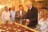 افتتاح معرض ذاكرة الأمة للعملات بمتحف السويس القومى…