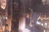 مواطن يشعل النيران في مكتب تموين منيا القمح بالشرقية _ بعد فشله في استخراج بطاقة تموينية