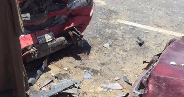 إصابة شخص صدمته سيارة ملاكى أثناء عبوره طريق الأوتوستراد…