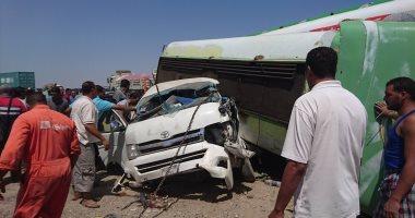"""""""الصحة"""": 19 إصابة في انقلاب أتوبيس بشرم الشيخ"""