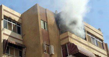 """حريق عقار بـ""""شارع المعز"""" بعد انفجار أسطوانة """"بوتاجاز"""""""
