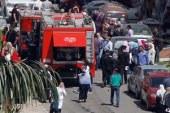 الحمابة المدنية بالجيزة تسيطر على حريق محدود داخل محطة وقود فى فيصل…