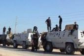 توقيف 33 مشتبها به فى حملات أمنية بشمال سيناء…