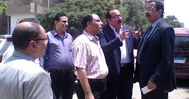 نائبا عين شمس يشاركان بلجنة معاينة أرض جمعية التنمية الفكرية..
