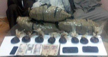 """""""أمن الإسماعيلية"""" يلقى القبض على 12 تاجرا ومتعاطيا للمخدرات فى حملة أمنية.."""