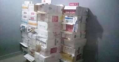 ضبط 12 ألف و262 علبة سجائر ومعسل قبل بيعها فى السوق السوداء ببنى سويف…