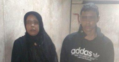 الطالب المتهم بذبح والده بمساعدة والدته فى كرداسة