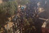تشييع جثمان متوفى بالطبل البلدي في منفلوط