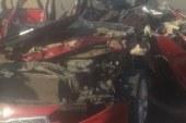 مصرع وإصابة 3 أشخاص فى حادث إنقلاب سيارة بالطريق الدولى بالبحيرة