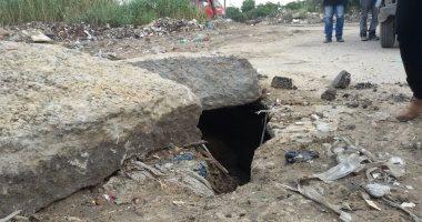 """تحويلات مرورية بطريق """"الإسكندرية الصحراوى"""" بسبب هبوط أرضى"""