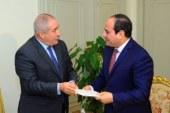 السيسي يتسلم دعوة للمشاركة بالقمة العربية