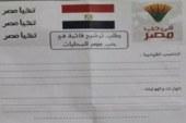 """حب مصر"""" تنفى علاقتها باستمارة مزيفة للترشح للمحليات"""