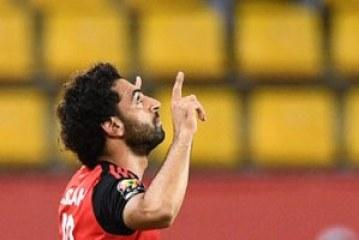 محمد صلاح ينافس ميسى على أجمل هدف فى الملاعب خلال يناير