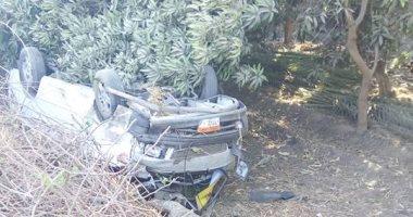 """إصابة 8 أشخاص فى حادث تصادم بطريق """"نجع حمادي – """" بقنا"""