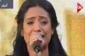السيسي يدعو أميرة رضا بمواصلة الغناء الوطنى بناء على رغبة شباب مؤتمر أسوان